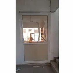 Powder Coated Aluminium Office Door, Single, Thickness: 19 Mm
