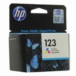 HP 123 Tri Color Ink Cartridge