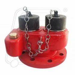 Fire Hydrant Two Way Inlet Breeching Valve Ss