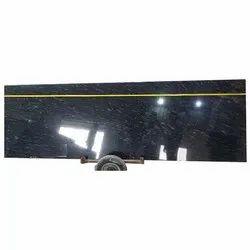 Markino Black Granite Stone Slab, For Countertops, Thickness: 15 mm
