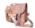 Leather Laptop Shoulder Bag