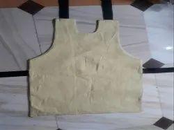 Shinde Yellow Kevlar Aramid Apron, For Furnace, Size: Free Size
