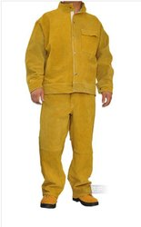 Leather welding suits