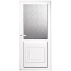 Matte White Aluminum Bathroom Door, Design/Pattern: Plain
