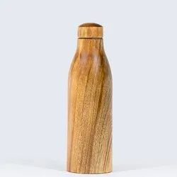 Copper Wooden Water Bottle