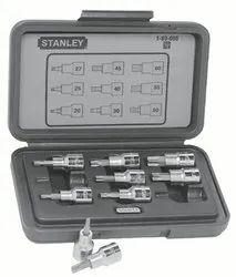 Stanley 9 Pc 1/2 Dr. Torix Bit Socket Set 89-098-12