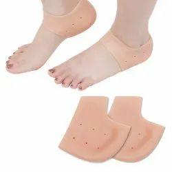Anti Crack Half  Silicone Socks