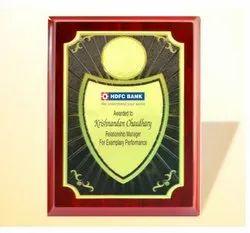 FP 10776 Golden Certificate Memento