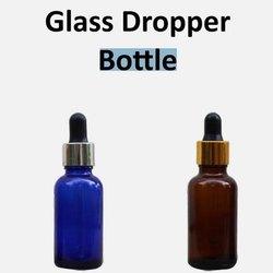 Amber Glass Dropper Bottle, Size: 30 Ml
