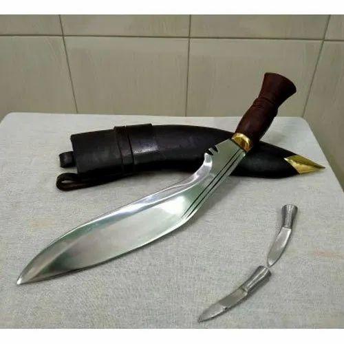 Stainless Steel Gorkha Khukri, Size: 14 Inch