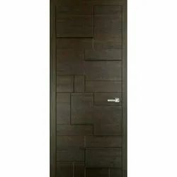 Interior Polished 3 D Wooden Door, For Home, Thickness: 30 Mm