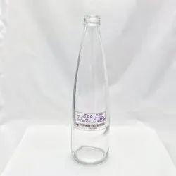 500ml Glass Water Bottle, Screw Cap