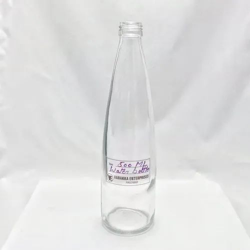 500 ml Glass Water Bottle