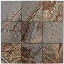 F Brown Brush Stone Mosaic