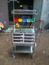 Stainless Steel Crash Cart