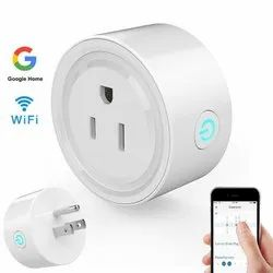 White Polycarbonate Wi Fi Socket, For Electric Fittings, 220 V