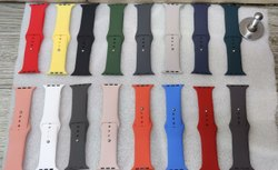 Apple Watch Plain Silicon Straps 42,44 Mm