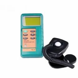 Solar Radiation Meter With Data Logger - Online