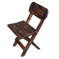 Wood Chiar Children Folding Chair Small Chair Household Children''s Stool