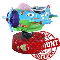 Rotating Aircraft Kiddie Amusement Ride Game