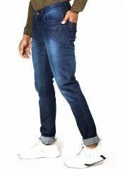 Denim Plain Mens Cotton Jeans