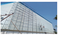 Galvanized Iron Cold Storage Warehouse, Automation Grade: Semi Automatic, +18 C To -35 C