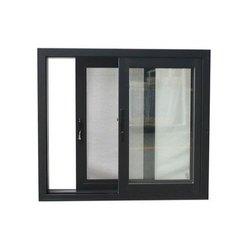 Powder Coated Black Aluminium Sliding Window