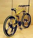 Golden Audi Foldable Cycle
