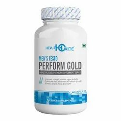 Healthoxide Men's Perform Gold  60 Capsules
