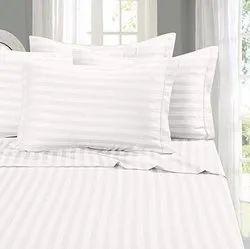 White Satin Patti - Patta Fabric & Bedsheet Dealer In india 300 T.c