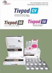 TIVPOD-50 Tablet Cefpodoxime 50mg Dispersible Tab