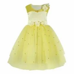 Yellow Girl Various Collection In Kids Party Wear