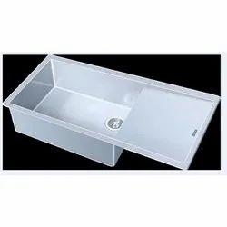 Frankee Single Franke Kitchen Sink, Size: 540x420x210