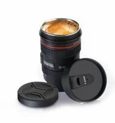 Camera Lens Shaped Coffee Mug
