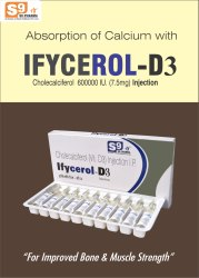 Ifycerol D3 Injection Cholecalciferol 600000 Iu