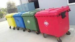 Four Wheeled Garbage Bins