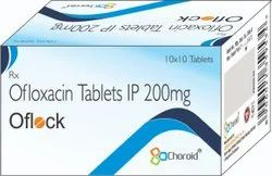 OFLOXACIN 200 MG TABLETS (OFLOCK-200)
