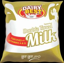 Dairy Best Double Toned Milk, Poly