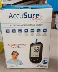 AccuSure Glucometer