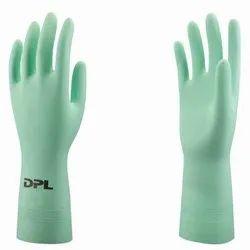 Nitrile Rubber Flock lined DPL Interface Lite Chemical Resistance Gloves