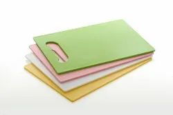Plastic Color Chopping Board Small  (30cm X20cm)