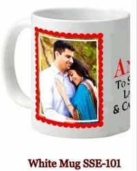 Printed Ceramic Coffee Mug, For Home and Office, Capacity: 250 Ml