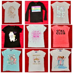 Round Casual Wear Girl's & Boy's Mix Fancy Printed T-shirt, Size: 2 To 18 Yrs