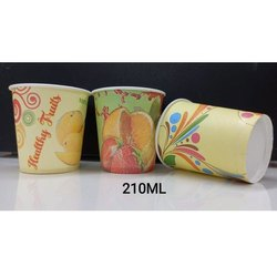 Printed 210 ML Eco Friendly Paper Cup, For Event and Party Supplies
