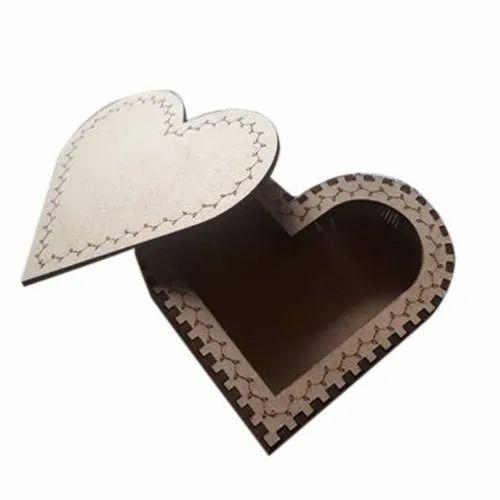 Heart Shape MDF Box
