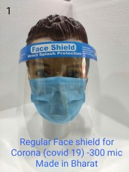 Regular Face Shield For Corona (Covid 19) -300 Mic