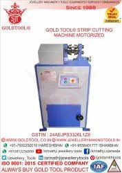 Gold Tool Tube Strip Cutting Motorized Jewelry Tools