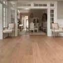 Brown Plain Florence Laminated Wooden Flooring, Thickness: 7 Mm