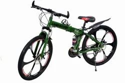 Land Rover Green 6S Foldable Cycle