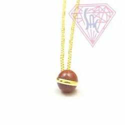 Red Garnet Chain Necklace
